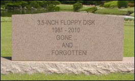 Floppy tombstone