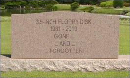 Floppy tombstone