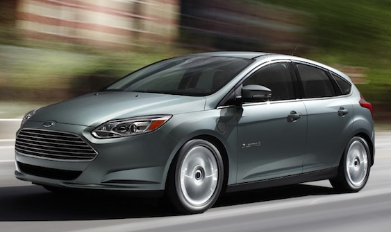 A limited production run for the new Ford Focus Electric will be available in 2012 (Image courtesy of Ford)
