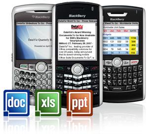 Documents To Go pro BlackBerry