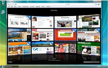 Apple Meluncurkan Safari 4 Beta Yang Lebih Cepat Dari IE7 dan Firefox