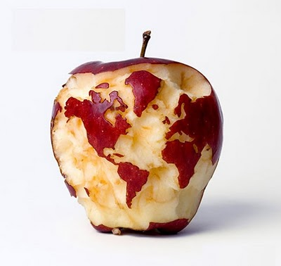 It's Apple's World.