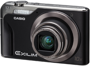 Casio announces Exilim Hi-Zoom EX-H10: thinnest, lightest wide-angle megazoom