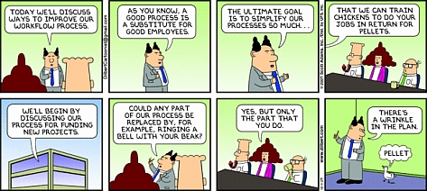 Dilbert on IT / business alignment