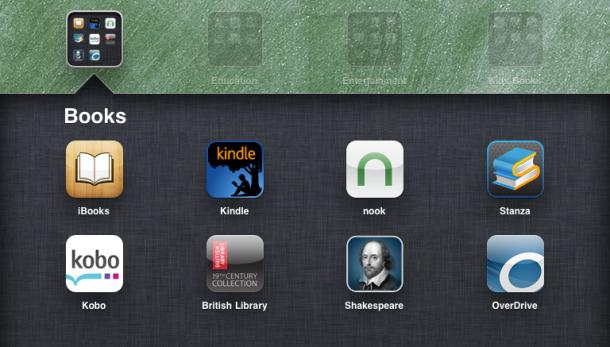 E books apps