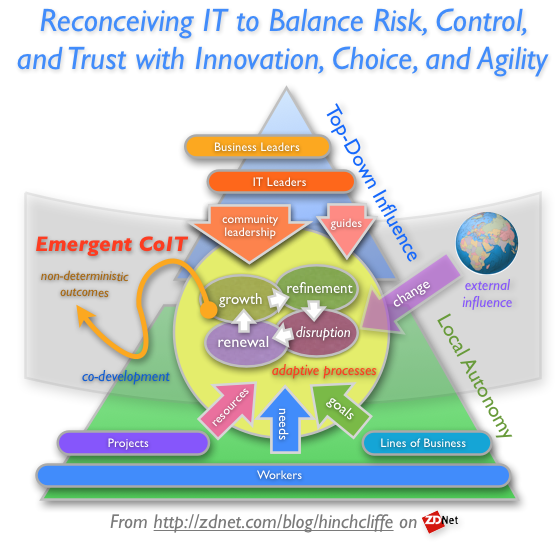Emergent CoIT: Reconceiving IT to Balance Risk, Control, and Trust with Innovation, Choice, and Agility