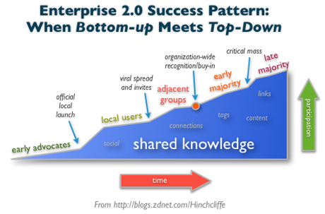 Enterprise 2.0 Success Pattern: When Bottom-Up Meets Top-Down