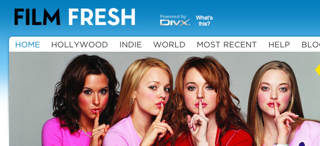 DivX, Inc. and movie site Film Fresh on Wednesday announced that Film Fresh ...