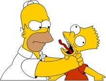 .....BOOKIE.... Homerchokingbart