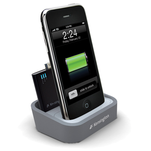 Kensington introduces iPhone/iPod charging dock with mini battery