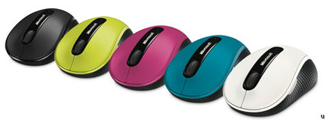 Microsoft Wireless Mobile Mouse 4000 with BlueTrack technology