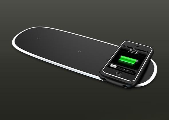 With Powermat, charge mobile devices wirelessly