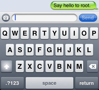 iPhone SMS hack