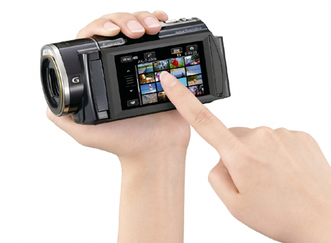 Sony announces flash memory HD camcorders with built-in GPS
