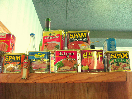 When you say SPAM, it had better mean canned luncheon meat