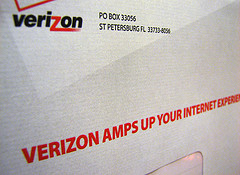 Verizon is not doing much Internet &quot;amping&quot; now. 