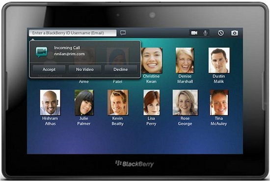 BlackBerry updates PlayBook with BBM, Video Chat and Shortcuts