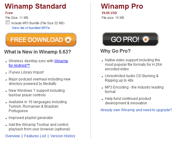 Winamp 5.63 fixes four critical security vulnerabilities