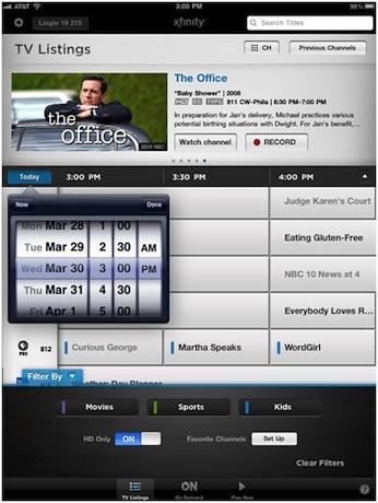 Xfinity+tv+listings
