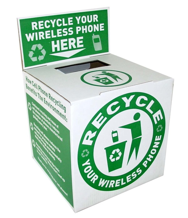 e-cycling container