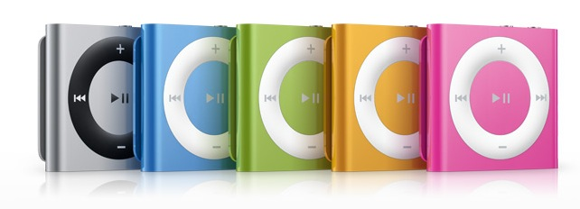 May nghe nhac iPod chinh hang Apple iPod touch iPod Nano shouffle