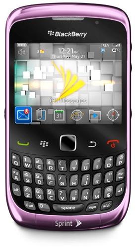 NEW BLACKBERRY CURVE 3G SPRINT